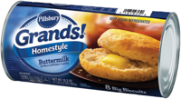 Pillsbury Grands Southern Homestyle Buttermilk Biscuits 8 Count 16.3 oz