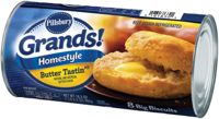 Pillsbury Grands! Butter Tastin' Southern Homestyle Biscuits 8 Count 16.3 oz