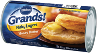 Pillsbury Grands! Flaky Layers Honey Butter Biscuits 16.3 oz
