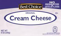 Best Choice Cream Cheese 8 oz