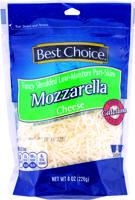 Best Choice Fancy Shredded Mozzarella 8 oz