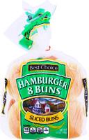 Best Choice Enriched Buns, Hamburger 11 oz