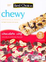 Best Choice Chunky Chocolate Chip Granola 10 ct