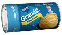 Pillsbury Grands! Flaky Layers Buttermilk Biscuits 8 Count 16.3 oz