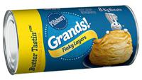 Pillsbury Grands Flaky Layers Butter Tastin' Biscuits 8 Count 16.3 oz
