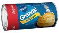 Pillsbury Grands Flaky Layers Original Biscuits 8 Count 16.3 oz