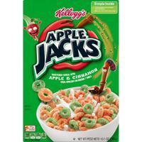 Apple Jacks Cereal Apple and Cinnamon Sweetened Cereal 10.1 oz