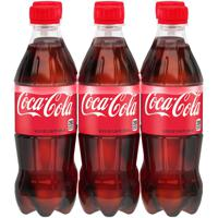 Coca-Cola Soda 6 bottles / 16.9 fl oz